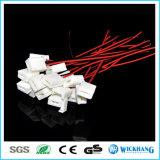 8mm 3528単一カラー防水LED滑走路端燈のための2つのPin Solderlessのコネクターケーブル