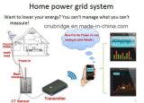Mètre à télécommande solaire portatif d'énergie