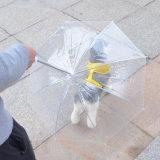 De in het groot PE van de Bevordering Transparante Paraplu van de Hond van het Huisdier