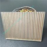Donker Bruin Gelamineerd Glas/het Glas van de Sandwich/Decoratief Glas voor Building&Household