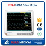 Monitor paciente chino de Pdj-3000c ICU Multipara