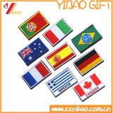 カスタムロゴのフラグの刺繍のパッチによって編まれるバッジのおよび刺繍パッチ(YBpH411)