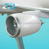 Großes Harz-Modell-Spielzeug des Fußboden-Flugzeug-Modell-A330-200 Alitalia