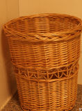 Cesta hecha a mano agradable de la comida campestre del sauce, cesta de mimbre de la comida campestre con el refrigerador (BC-ST1287)