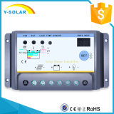 carga de 12V 24V 30A/regulador solares de la descarga con el temporizador dual S30I