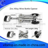 Outil de bouteille de vin en alliage de zinc style nouveau / Stopper Promotion