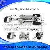 Новое промотирование консервооткрывателя/затвора бутылки вина сплава цинка типа