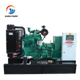 El motor BRITÁNICO 50kw abre el tipo conjunto de generador