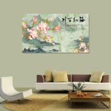 A pintura a óleo impressa Digitas do chinês tradicional para a decoração Home
