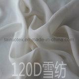 100% poliéster Chiffon de seda para senhora tecido de vestuário
