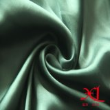 Зеленая ткань сатинировки полиэфира для подкладки, платья