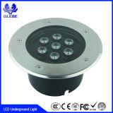 중국 공급자 IP68 지하 가벼운 사각 LED 지하 포장 빛