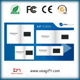 3.5 '' Business Video Card 2GB LCD Video Brochure Gadget