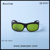 40% Beförderung 755nm Lasersicherheits-Glas-Lasersicherheits-Schutzbrillen für Alexandrite-Laser mit Spant 33