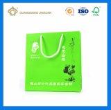 Image de marque personnalisée sac cadeau en papier (avec l'or marquage à chaud)