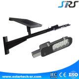 mini DEL éclairage routier solaire de 12W 24W 30W 40W 50W de fournisseur de Zhongshan