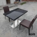 Изготовленный на заказ чисто черные таблицы и стулы трактира