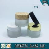 vaso della crema di vetro glassato 50ml