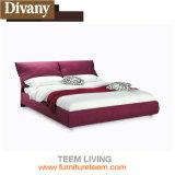Самомоднейшая мягкая кожаный кровать типа