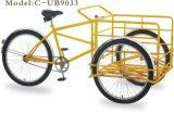 En15194 de 26 pulgadas el bastidor de acero de 2 ruedas eléctrica Holandesa de bicicletas de carga de adultos