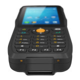 Téléphone mobile de PDA avec le relevé NFC/RFID du code barres 1d/2D