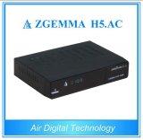 Nieuw Product H. 265 de Decoder van TV Zgemma H5. AC DVB S2 + ATSC