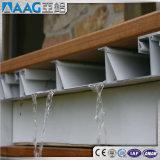 Perfil de aluminio/de aluminio de la protuberancia del canal