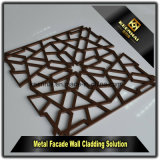 Pannello di rivestimento di alluminio della parete del taglio decorativo del laser con ventilazione