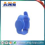 腕時計様式のゴム125kHz RFIDはプールのためのリスト・ストラップを可能にした