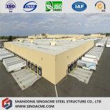 Große Überspannungs-vorfabriziertes Stahlkonstruktion-Diplomlager für LKWas