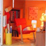 Casa de boneca de madeira bonita de 2017 DIY