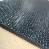 Azulejo de vinil de PVC de grão de couro de 5,0 mm / Loose Lay / Free Lay Flooring