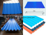 Плакирование крыши медного штейна/красные Corrugated листы толя
