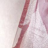 Diseño de tela de encogimiento Tejido de cortina de ventana