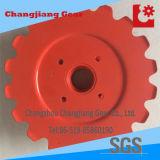 Soem-roter Farbanstrich-Sprühförderanlagen-Standardaktien-Kettespecial-Kettenrad