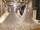 新しい到着2017の多色刷りのレースの結婚のウェディングドレス