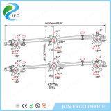 Canalisation verticale réglable de support de moniteur de bras de moniteur de Jeo Ys-MP360gl Vesa75/100