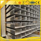 Perfil de alumínio anodizado série de 6000 extrusões C