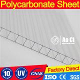 Panneau en polycarbonate en toiture Feuille en plastique en polycarbonate Bayer
