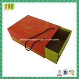 Custome imprimió el rectángulo de papel de la cartulina del cajón con la maneta