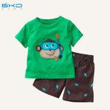 Drucken-Art-Baby-Kleid gekämmte Baumwollbaby-Klage