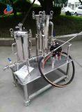 Industrieller Edelstahl kundenspezifisches Beutelfilter-Gehäuse mit Wasser-Reinigungsapparat-Pumpe