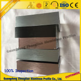 Het Profiel van het Aluminium van het meubilair met Geanodiseerde Geborstelde Sufrace