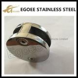 Clip de vidrio de acero inoxidable cepillado 304