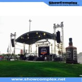 High Brightness Outdoor Full Color LED Rental Billboad para instalação fixa (640mm * 640mm P6)