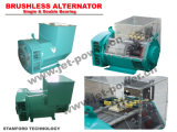 100% Copper Stamford Single Phase Brushless 10kw Generator Alternator