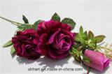 Hochzeits-Dekor-Qualitäts-Tuch Rosas künstliche Rose Blumen