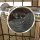 Convoyeur de vis flexible de convoyeur incliné de foreuse d'acier inoxydable