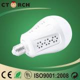 電気不足のために12W有用なCtorhのブランド有料LEDの緊急の球根
