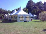 tente de pagoda de capacité d'usager d'événement de chapiteau de 6X6m avec le GV